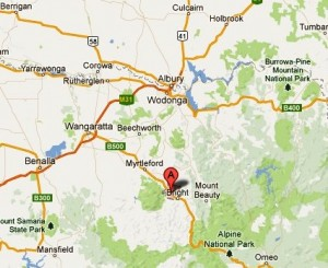 Porepunkah map google CROPPED