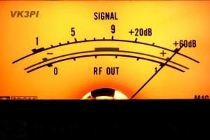 2014 Signal meter 60dB tag VK3PI DSCF6437 web compressed