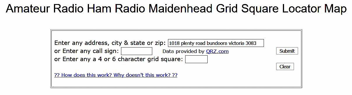 Maidenhead Locator (Grid) squares   Australia Radio – VK3PI