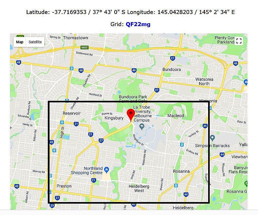 Maidenhead locator grid squares australia radio vk3pi a grid locator consisting of a 6 letterfigure combination measures approximately 482803 kilometres x 643738 kilometres 3 x 4 miles for those that use gumiabroncs Choice Image
